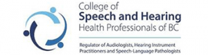 College of Speech and Hearing Health Professionals of BC Logo